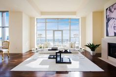 The Carlyle Residences in Los Angeles, California by Maxime Jacquet and Summer Chapin of Premier Stagers via @HomeDSGN