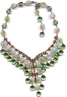 Vintage - 1920s flapper necklace