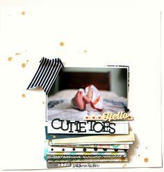 Cutie Toes by nirupama01 at @Studio_Calico