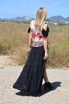 Look Judit Asimetrik Skirt by @freeloveibiza available at @ibizatrendy