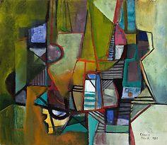Roberto Burle Marx - Composição Abstrata (1989)