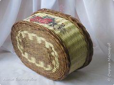 Поделка изделие Плетение Новенькое Трубочки бумажные фото 3