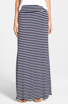 Junior Women's Lily White Half-Sheer Maxi Skirt