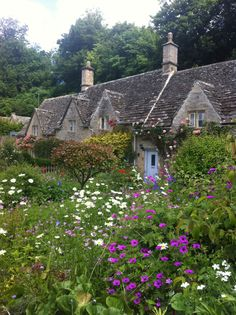 Cotswolds -- sigh!   Just thinking about these darling little villages and hamlets with their billowing English gardens makes me feel calm & happy!