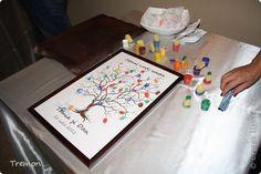 Картина, панно, рисунок Рисование и живопись: Свадебное дерево Гуашь, Картон Свадьба
