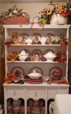 my hutch gets dressed for Autumn from kristen62