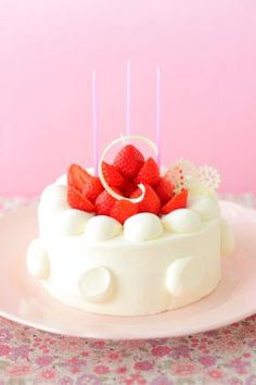 「バースデーケーキ」あいりおー | お菓子・パンのレシピや作り方【corecle*コレクル】