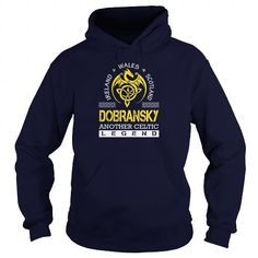 I Love DOBRANSKY Legend Lastname, Surname Tshirts Shirts & Tees