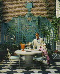 PBC Style: Miles Redd Redux II: Mr. Redd's Own Residence