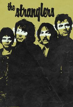 The Stranglers, 1977 Pop Posters, Concert Posters, Music Posters, Greatest Rock Bands, Best Rock, 70s Artists, Rock Band Posters, Thing 1, Music Artwork