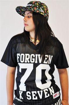 Forgiven 70 x 7 by JCLU Forever  24.99 Highschool Freshman c8772fe90af