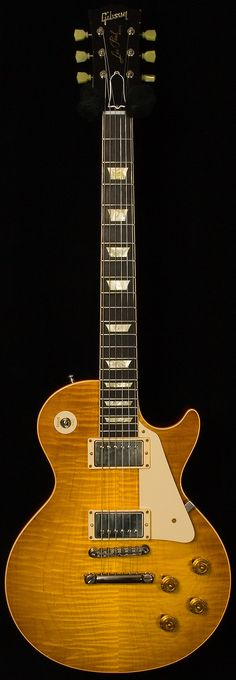 Gibson Custom Shop Historic Wildwood Spec 1959 Les Paul Murphy Aged - Lemon Burst www.vintageandrar...