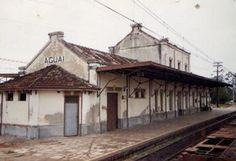 Aguaí/SP -- Estação Ferroviária do Estado de São Paulo