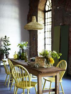 gule stoler