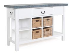 Nantucket Storage Console Table