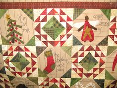 I love this Primitive Gatherings quilt pattern.