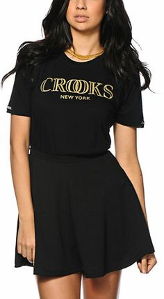 Crooks and Castles Crooks New York Tee Shirt