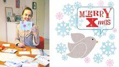 design: studiogiraffe.nl #101kerstkaartencountdown2012 #cards #christmascard #postcard #holidaycards #dutchdesign #101woonideeen #kerstkaarten Christmas Home, Holiday Cards, Illustrator, Merry, Kids Rugs, Prints, Design, Home Decor, Christian Christmas Cards