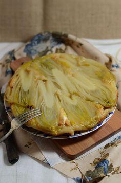 C'est bientôt la fin de la saison des endives alors on profite pour se faire une merveilleuse tarte tatin d'endive au chèvre et miel...