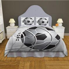 Soccer Bedding for Kids, Soccer Themed Quality Bedding Sets #13 #EloquentInnovations #HomeDecor #Bedding #Sports #Soccer