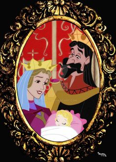 of aurora, disney by on deviantart Arte Disney, Disney Fan Art, Disney Magic, Disney And Dreamworks, Disney Pixar, Halloween Bebes, Maleficent, Disney Princess Aurora, Princess Bubblegum