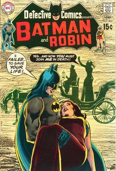 Detective Comics - DC Comics - classic cover by legendary artist Neal Adams Batman Comic Books, Batman Comics, Comic Books Art, Comic Art, Batman Poster, I Am Batman, Batman Robin, Superman, Marvel Girls