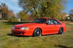 1993 Ford Mustang 5.0 liter 302 hatchback SVT Cobra R.... GOD I WANT THIS CAR !!!