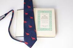 Vintage Tie & Book Brothers Karamazov and by PomegranateVintage, $24.99