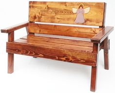 Hey, I found this really awesome Etsy listing at https://www.etsy.com/pt/listing/255131796/childrens-wood-memorial-angel-bench