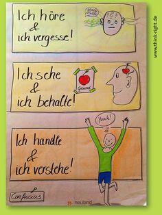 Die Bedeutung des handlungsorientierten Unterrichts... Von Päda.logics! gefunden auf der Pinwand von Doris Reich. Beratungen im pädagogischen und sozialen Berufsfeld: www.paeda-logics.ch oder www.facebook.com/paeda.logics