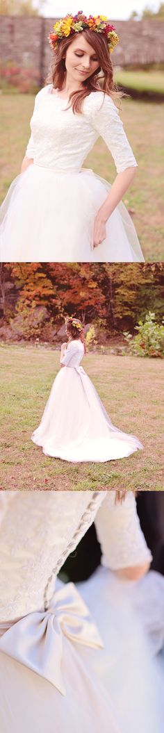 Gorgeous long sleeve wedding gown from Avail & Company.  Perfect for a late fall or winter wedding!  Modest and beautiful! Almost any custom changes can be made to the design.
