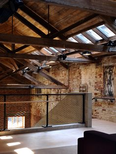 Gallery of Aldeburgh Music / Haworth Tompkins - 10 Warehouse Apartment, Warehouse Living, Interior Exterior, Exterior Design, Architecture Details, Interior Architecture, Loft Interiors, Exposed Brick, Exposed Rafters
