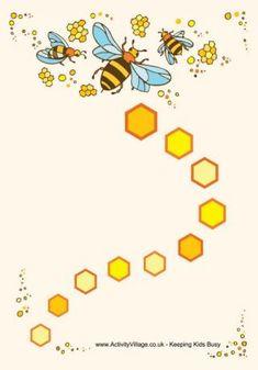 Beloningskaart / Bee Reward Chart