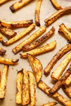 Use leftover rutabaga to create these rutabaga fries. Healthy, vegan, and gluten-free, they are also a great alternative to the same old sweet potato fries.