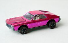 Rare  1969 Custom AMX Hot Pink Hot Wheels Redline by TheWildWorld, $44.95