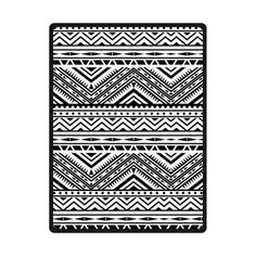 """$58 Hot Sale Fleece Blanket Throw 58"""" x 80"""" (Large) Size with Aztec Tribal Pattern Background"""