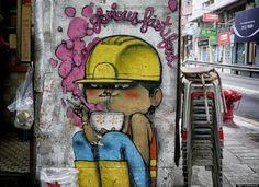 Street Art: Ramen. Glorious Fast Food