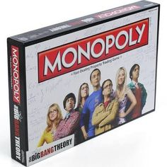 Bruce is still collecting Monopoly games. We have: Villans, Fishinopoly, Grillinopoly, Cityville, Cleveland Edition, Irelandopoly, and the Vintage one in the wood box.   The big bang theory one would be awesome!!