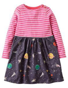 157e50895 Amazon.com: Girls Cotton Longsleeve Casual Dresses Print Cartoon by Fiream:  Clothing Toddler
