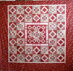 Madeline's good fortune - a mixture of schnibbles quilt patterns.