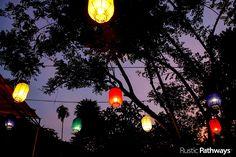Colorful lanterns l LAOS l Brittany Sowacke