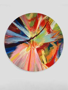 Damien Hirst, Beautiful, Leeds United 3-0 If It's Gotta Hole In It Painting (the Vortex of Youth), 1999