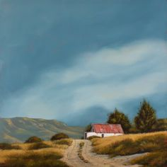Prints Available - Donna McKellar Slide Background, Background Images, South African Artists, Oil On Canvas, Country Roads, Prints, Cottages, Landscapes, Passion