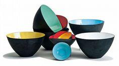 Herbert Krenchel Krenit bowls (10), Torben Orskov, Designed 1953