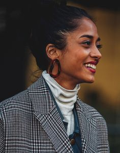 Street style bijoux à la sortie des défilés automne-hiver 2018-2019 de New York