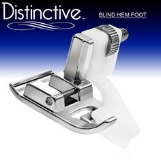 Distinctive Blind Hem Sewing Machine Presser Foot - Fits All Low Shank Snap-On Singer*, Brother, Babylock, Euro-Pro, Janome, Kenmore, White, Juki, New Home, Simplicity, Elna and More! Distinctive http://www.amazon.com/dp/B003265IDI/ref=cm_sw_r_pi_dp_gmmEub0XESHZ5