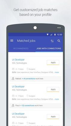Shine.com Job Search- screenshot