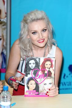 perrie edwards | Perrie Edwards Perrie Edwards attend a book signing of 'Little Mix ...