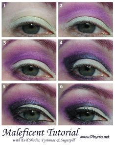 Disney Villains Maleficent Tutorial. click through to see!