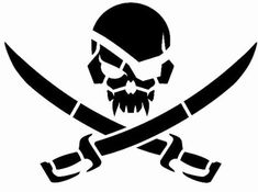 Pirateskull Stencil Stencil Military Tactical Stencil Stencil art size is about x Made of 14 mil Mylar they offer flexibility to use on both flat and curved surfaces while still being durable for repeat use Skull Stencil, Tattoo Stencils, Stencil Art, Skull Art, Pirate Art, Pirate Skull, Pirate Life, Logo Atelier, Glass Engraving